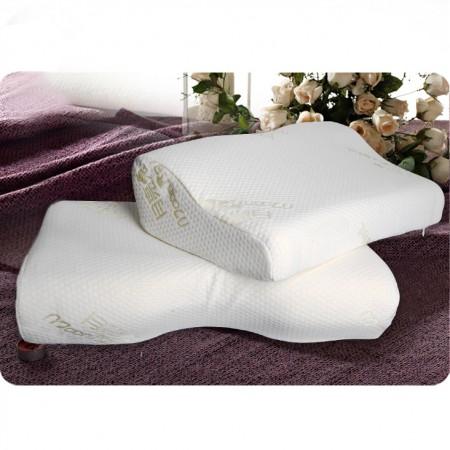 月亮兔护颈保健记忆对枕 白色